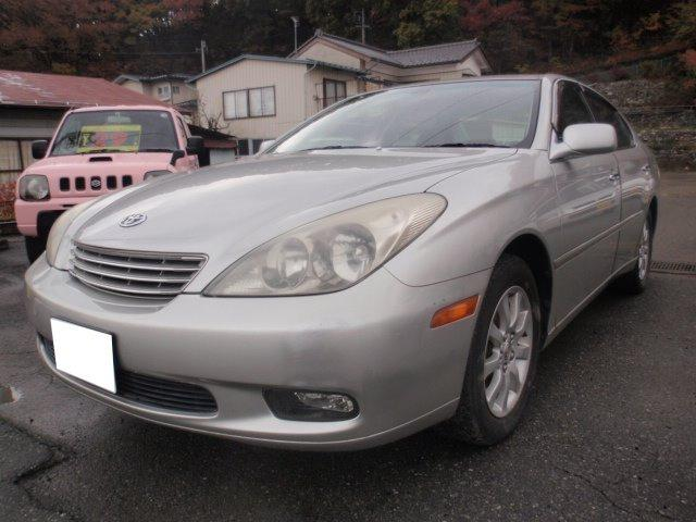 トヨタ 3.0G 内装綺麗 黒革シート ナビ ETC