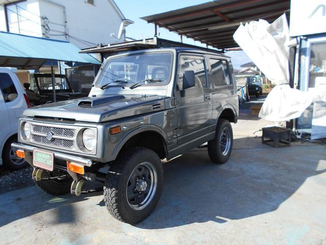スズキ ジムニー HC 4WD 5速マニュアル 2.5インチアップ AC PS