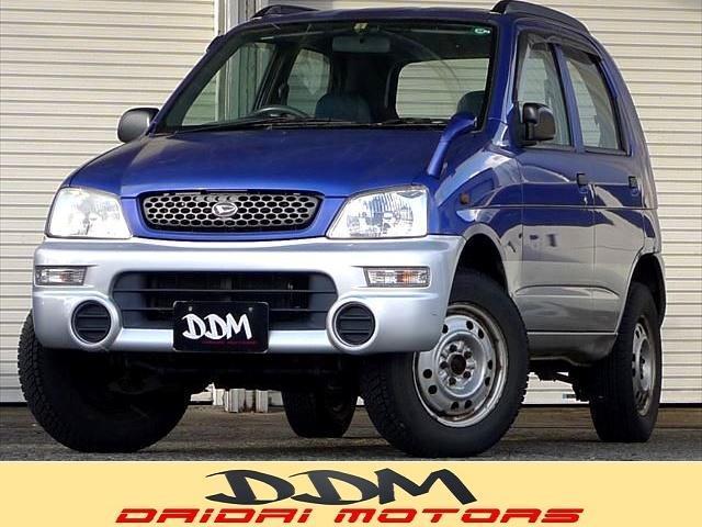ダイハツ CL 4WD ターボ キーレスエントリー Wエアバッグ