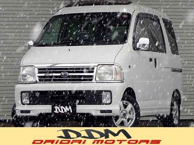 ダイハツ カスタム サンルーフ 4WD