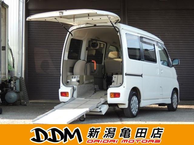 ダイハツ  フレンドシップ スローパー リヤシートレス仕様 折り畳み補助シート付 4WD リビルトタービン交換済