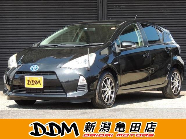 トヨタ S HDDナビ フルセグTV シートカバー