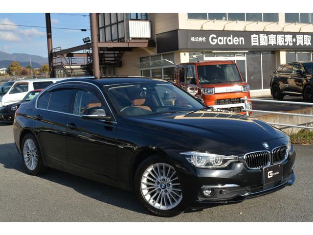 BMW 320d 禁煙車衝突軽減ブレーキ レーンアシスト リアセンサー ブラウンレザー