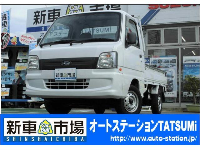 スバル TC 4WD 5速MT 三方開 ワンオーナー キーレス