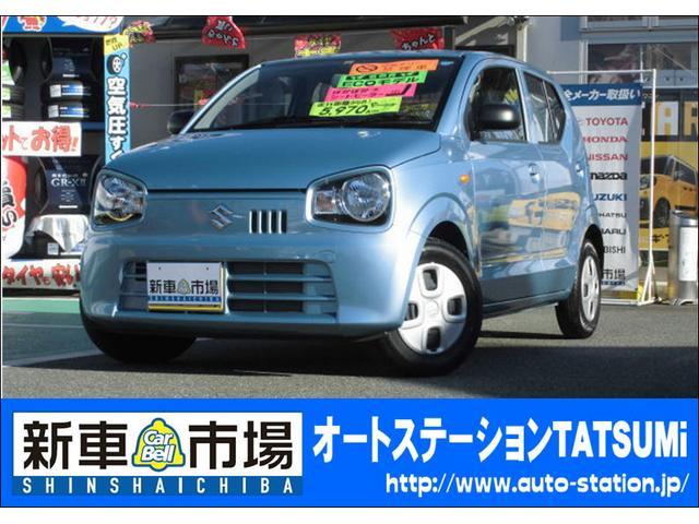 スズキ L 禁煙車 ワンオーナ- CD アイドリングストップ ABS
