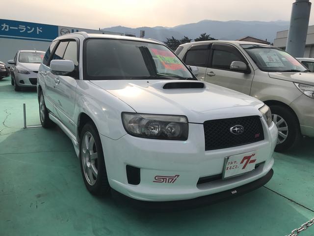 スバル STiバージョン 4WD 6速マニュアル 17インチアルミ