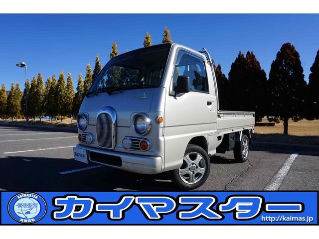 スバル JAクラシック4WD 1オーナー 車検対応新品スタッドレス付