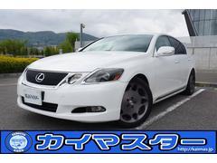 レクサス GS350車高調・日本純正マルチ・特注アルミ・セキュリティー