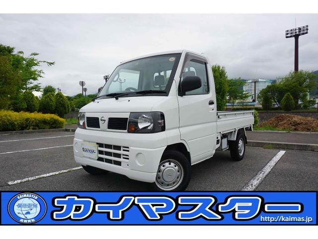 日産 DX パート4WD H・L切替有 エアコン・パワステ付