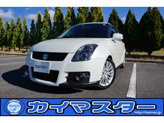 スイフトスポーツ セットOP車 純正レカロ&HID 外車高調&ナビ
