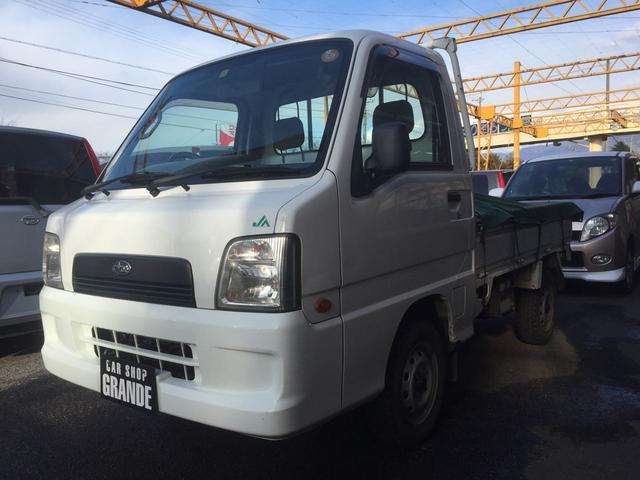 スバル 4WD 5速マニュアル 三方開 TT2系 75500キロ