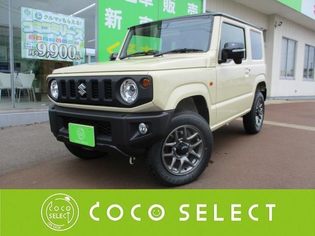 スズキ ジムニー XC 4WD☆LEDヘッドライト/2トーンカラー/セーフティサポート/クルコン