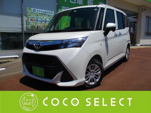トヨタ タンク X S 4WD ETC スマートキー バックカメラ CD 横滑り防止 ナビ