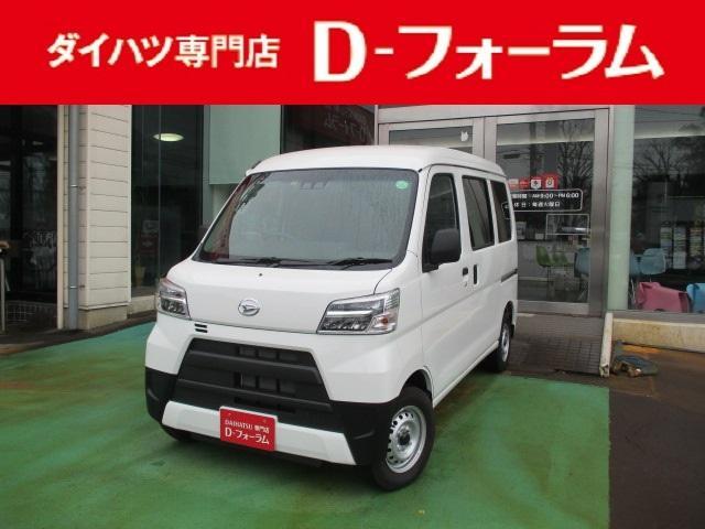ダイハツ DX SAIII 4WD LEDヘッドライト スマートアシスト3 オートライト プライバシーガラス アイドリングストップ キーレスエントリー