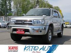 ハイラックスサーフSSR−X LTD 4WD キーレス エアバック ABS
