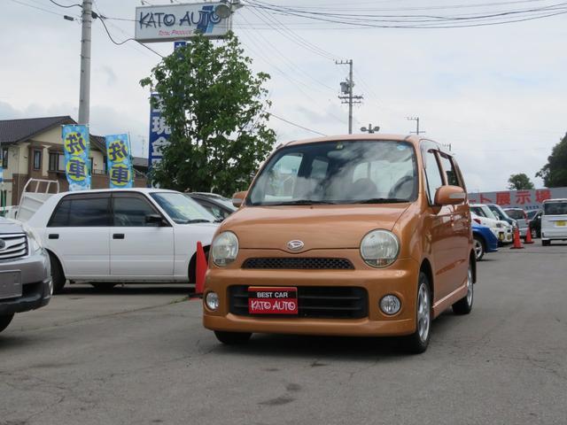 ダイハツ Xリミテッド 4WD CD MD オートAC 電動格納ミラー