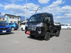 ハイゼットトラックジャンボ 4WD ナビ ワンオーナー車 リフトアップ 禁煙車 シートカバー