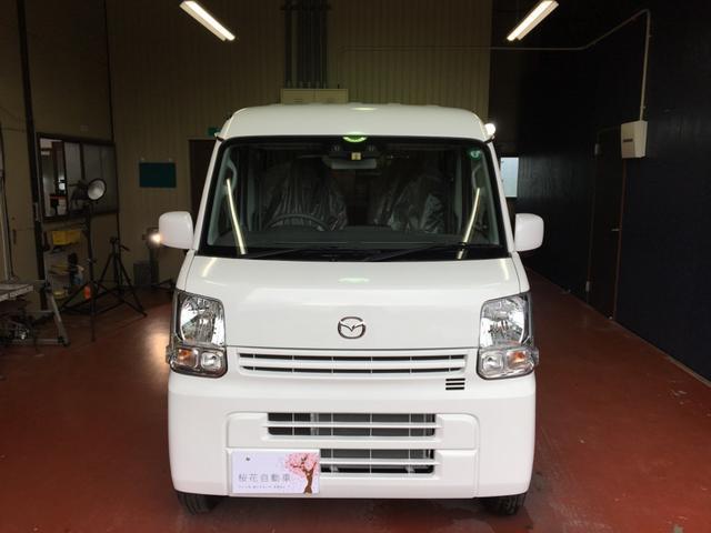 マツダ スクラム PCスペシャル 4WD AT 安全装備多数 デュアルカメラブレーキサポート クリアランスソナー メーカー保証付きます 届出済み未使用車