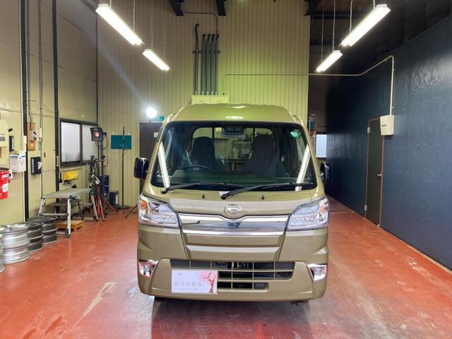 ダイハツ ジャンボSAIIIt 4WD オートマ LEDヘッドライト クリアランスソナー メーカー保証付きます 届出済み未使用車