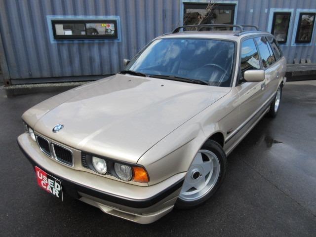 BMW 540iツーリング ETC アルミホイール 本革シート