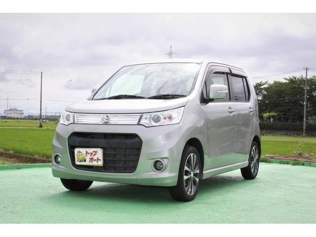 スズキ ワゴンRスティングレー T 4WD/ワンオーナー/Bluetooth/ナビTV/ETC/禁煙車/シートヒーター