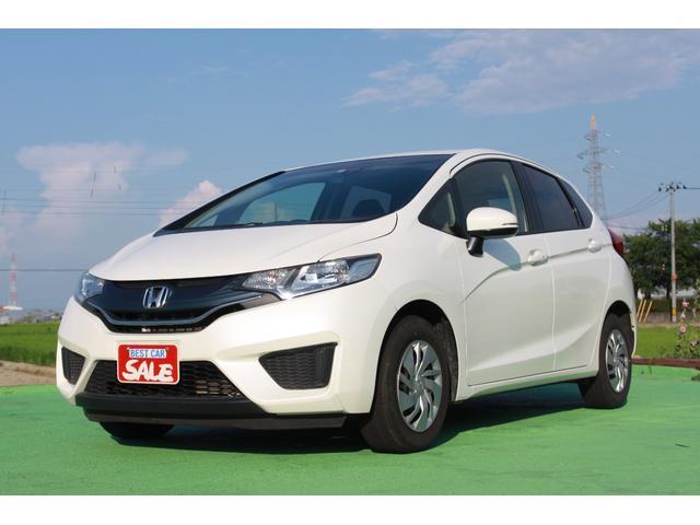 フィット(ホンダ) 13G・Fパッケージ 冬タイヤ付き/ナビ/Bluetooth/禁煙車/バックカメラ 中古車画像