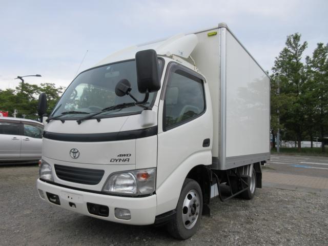 トヨタ ダイナトラック フルジャストロー ディーゼル 4WD アルミバン Wタイヤ 1.5t 5速マニュアル
