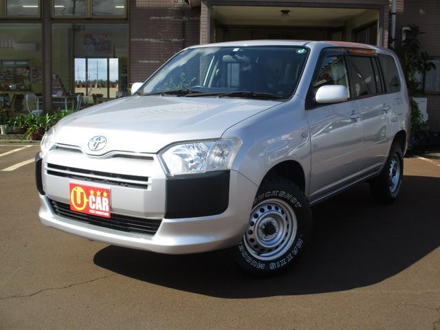 トヨタ プロボックス GL リフトアップ 4WD ナビ ワンセグTV ETC キーレス