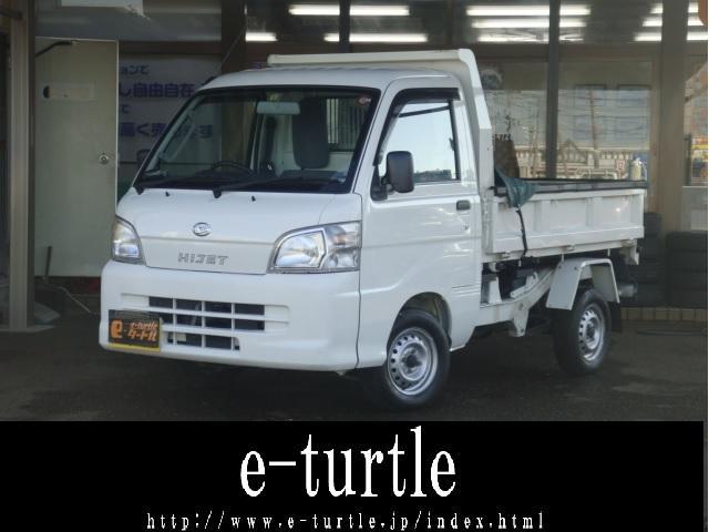 ダイハツ ハイゼットトラック 多目的ダンプ 4WD オートマ 走行23190km AUX付きCDデッキ