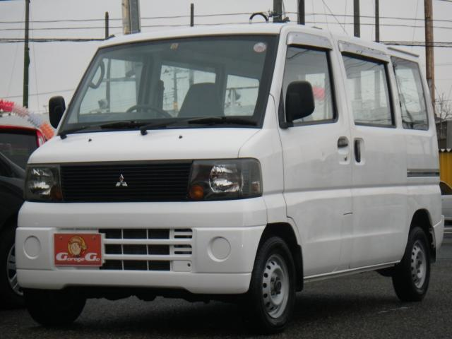 三菱 CD  5速マニュアル 切替4WD タイベル済 エアコン
