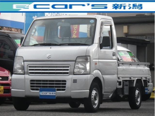 スズキ キャリイトラック KCエアコン・パワステ 3方開 切替4WD 5速マニュアル車