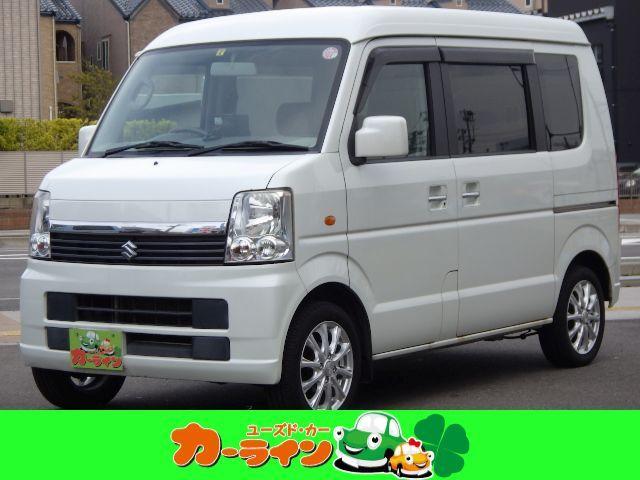 スズキ JP ハイルーフ 切替4WD タイミングチェーン 社外14インチアルミ シートヒーター