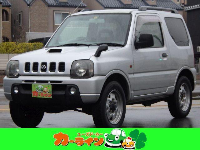 スズキ ジムニー XC 切替4WD ターボ ルーフレール ETC フォグライト タイミングチェーン キーレス