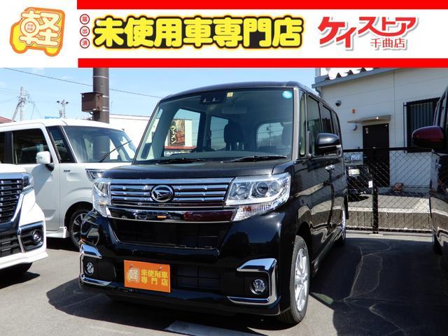 ダイハツ カスタムX SAIII 4WD 届出済未使用車