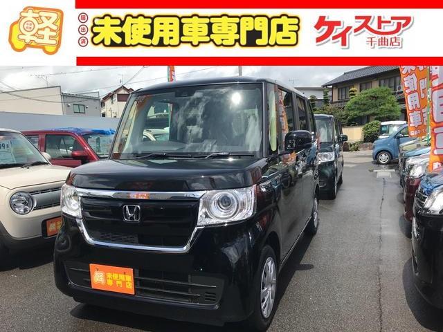 ホンダ N-BOX Gホンダセンシング 届出済未使用車 4WD シートヒーター
