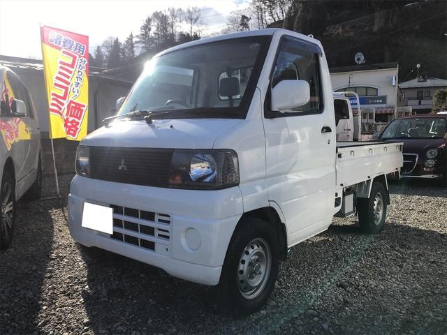 三菱 VX-SE 4WD MT 軽トラック オーディオ付