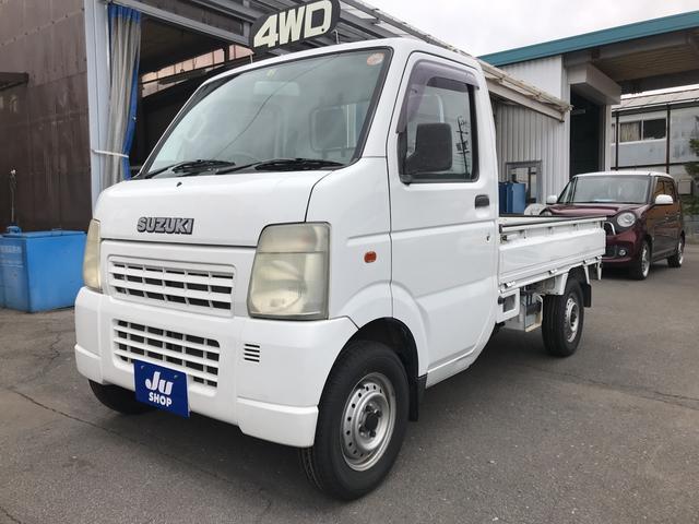 スズキ KC 4WD AC 5MT 軽トラック 保証付 タイヤ新品