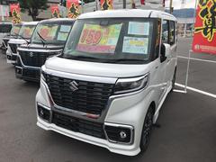 スペーシアカスタムハイブリッドXS 2WD 届出済未使用車