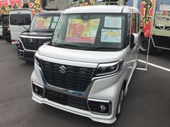 スペーシアカスタムハイブリッドGS 4WD 届出済未使用車