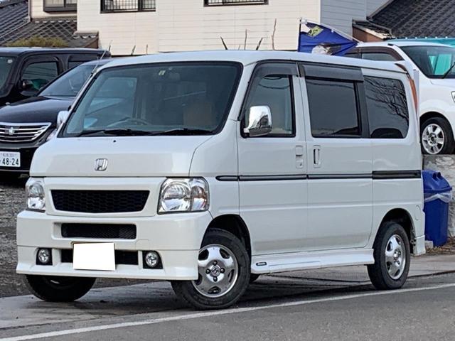 ホンダ L 4WD 5速マニュアル CD MD ETC スライドドア