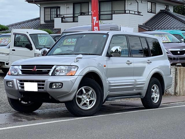 三菱 ロング エクシード 4WD 7人乗 禁煙車 キーレス