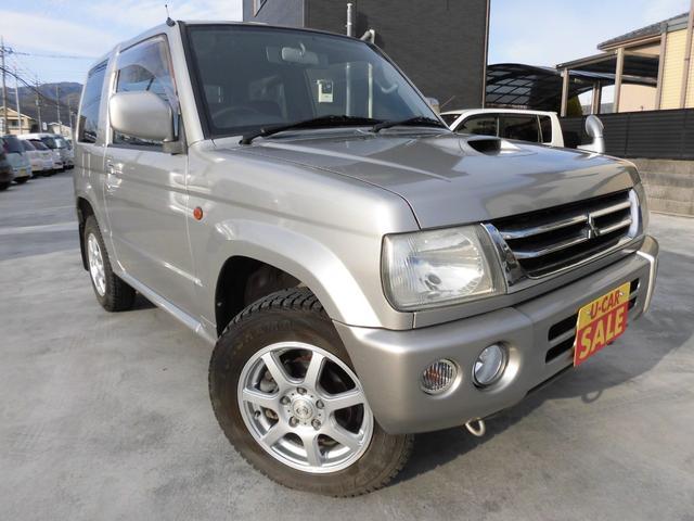 三菱 アクティブフィールドエディション 4WD ターボ 社外AW