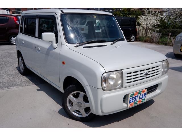 スズキ X AT 4WD CD・MD 走行91390km 車検整備付