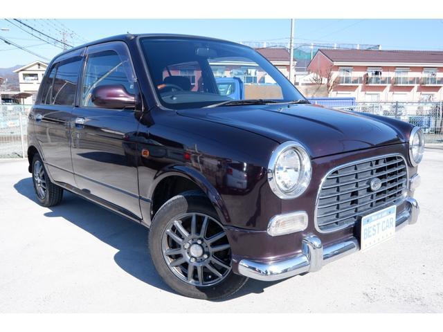 ダイハツ ミラジーノ ジーノ AT 2WD 社外13インチアルミホイール CDオーディオ 車検整備付 走行10.7万km