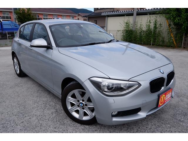 BMW 116i 純正HDDナビ バックカメラ HIDヘッドライト アイドリングストップ スマートキー プッシュスタート ETC 走行3.9万km 車検R4年10月