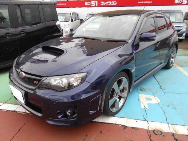 スバル WRX STI Aライン 黒革パワーシート&ヒーター