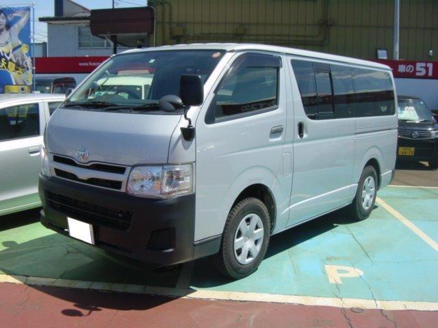 トヨタ ロングDX 9人乗り 純正地デジナビ ETC 4WD