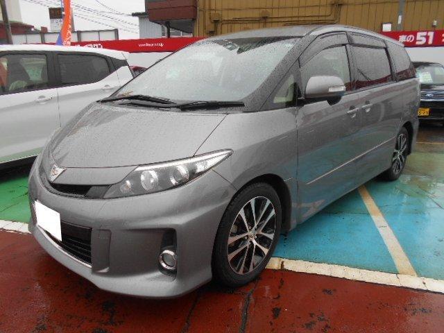 トヨタ エスティマ アエラス 4WD 8インチフルセグナビ TRDサスペンション