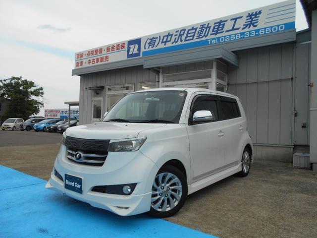 トヨタ bB Z Xバージョン 4WD オプションエアロ オプショングリル 社外LEDテール フルセグナビ オートエアコン