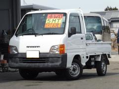サンバートラックJA  4WD 5MT オーディオ&スピーカー付 三方開き